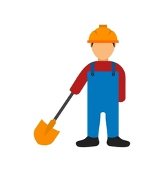 Construction worker iii vector
