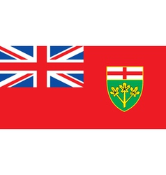 Ontario Province vector image