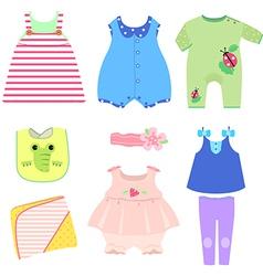 Children wear vector