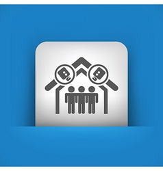 single icon vector image vector image