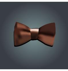Tie bow vector image vector image