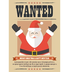 We want santa claus vector