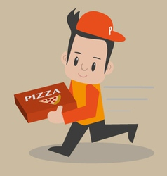 Pizza-boy vector