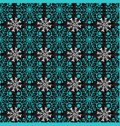 Christmas seamless pattern geometric texture with vector
