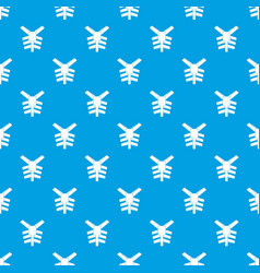 human thorax pattern seamless blue vector image vector image