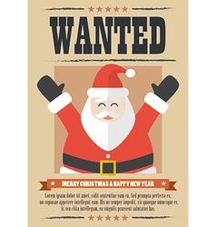 We want santa claus vector image vector image