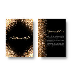 Bling background with light effect vector