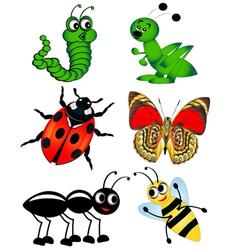 Bugs vector image