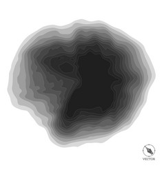 Abstract step black background for design vector