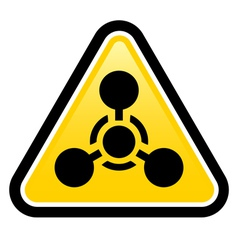 Chemical Weapon sign vector image vector image
