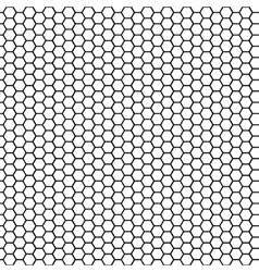 Seamless pattern honeycomb vector image