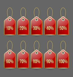 Bargain price tags vector