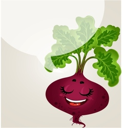 Beetroot - about healthy eating vector