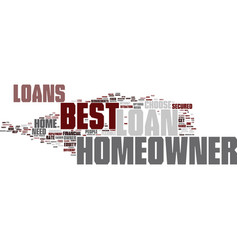 Best homeowner loans perfect package for vector