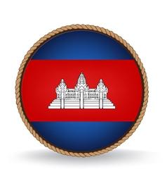 Cambodia Seal vector image