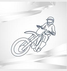 Motor sport logo icon vector