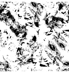 ink grunge texture seamless pattern Messy vector image