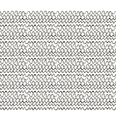 Abstract sketched scribble waves seamless vector