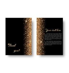 bling background with new year light vector image