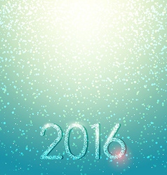 New Years shining background Christmas inscription vector image vector image