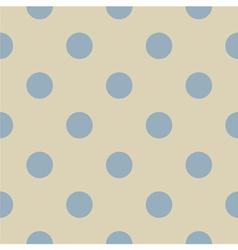 Seamless pastel polka dots pattern vector image vector image