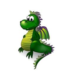Fairy tale dragon - vector