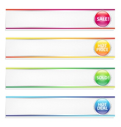 Retail Banners vector image