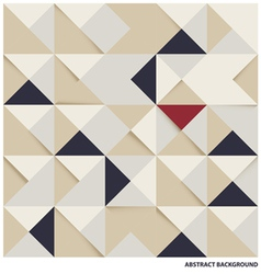 Abstract triangle and square background vector