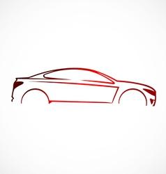 Car abstract automotive concept logo vector