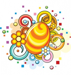 easter symbol vector image vector image