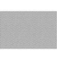 monochrome geometric pattern with honeycombs vector image vector image