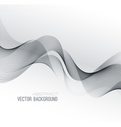 Abstract lines background Template design vector image