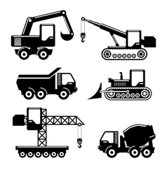 Icons construction vector