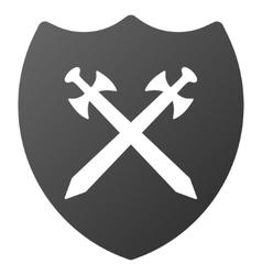 Security Shield Gradient Icon vector image vector image