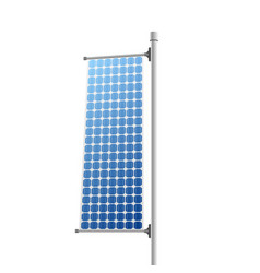 Solar panel - renewable energy source vector