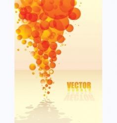 citrus fizz background vector image