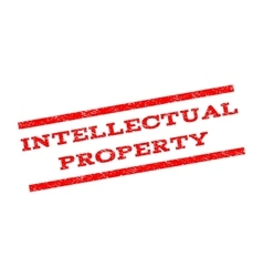 Intellectual property watermark stamp vector
