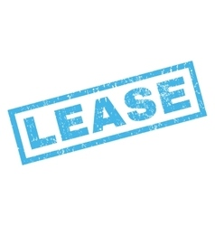 Lease rubber stamp vector
