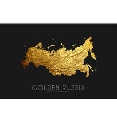 Russia map Russia logo Creative Russia logo vector image vector image
