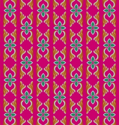 Thailand traditional art pattern vector image vector image