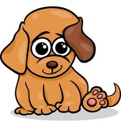 baby dog puppy cartoon vector image