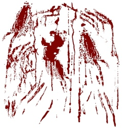 Blood spots vector image