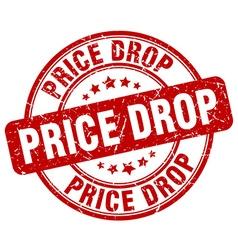 Price drop stamp vector