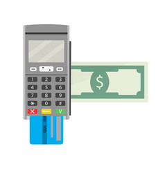 Payment by terminal vector