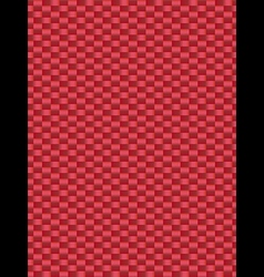 Red weave texture synthetic fiber geometric seamle vector