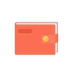 Wallet purse vector image vector image