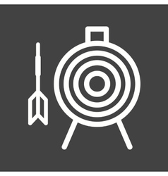 Dartboard vector