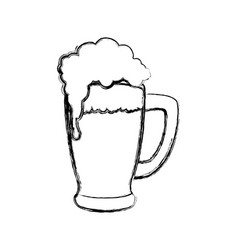 delicious beer draw vector image
