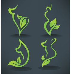 Nature body vector
