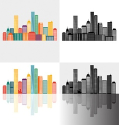 Creative building design template for your company vector